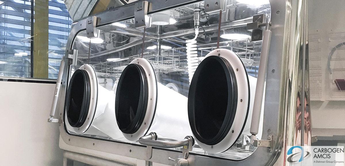 Dự án cho công ty CARBOGEN AMCIS AG của Thụy sĩ năm 2019