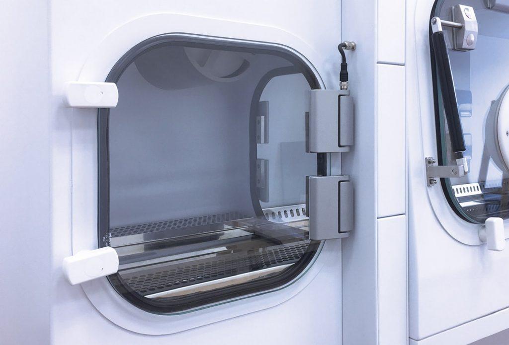 Passbox của thiết bị tủ an toàn sinh học cấp 3