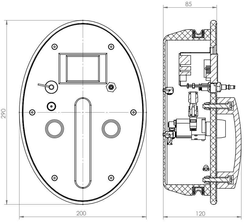 Bản vẽ kỹ thuật máy kiểm tra găng tay