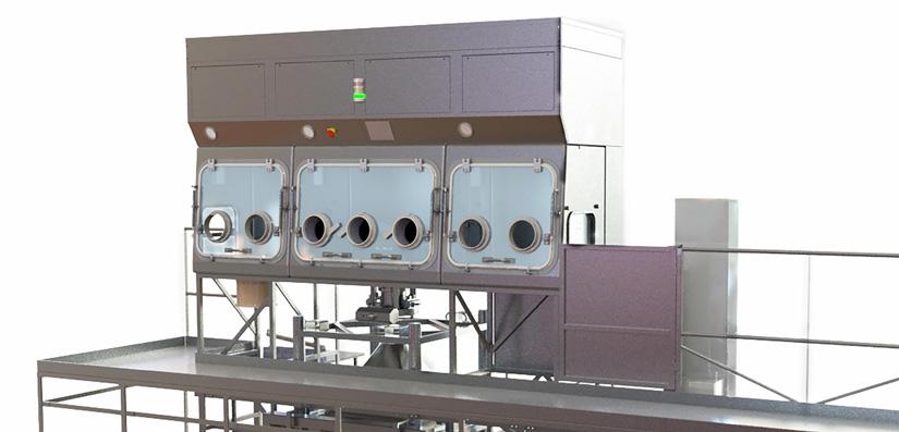Thiết bị Isolator do BLOCK cung cấp cho công ty Veropharm - Abbott