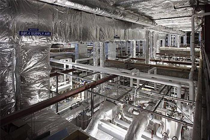 Hệ thống lọc Hepa trong phòng thí nghiệm cấp 4
